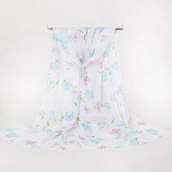 Gossamer Lightsome Tiny Flowers Printing Scarf