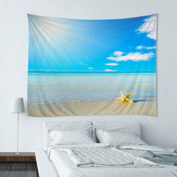 Wall Hanging Art Decoration Beach Starfish Print Tapestry