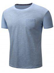 Short Sleeve Pocket Cotton T-shirt