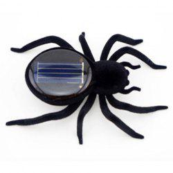 Frightened Kit Solar Powered Spider - BLACK
