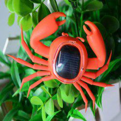 Frightened Kit Solar Powered Crab - ORANGE