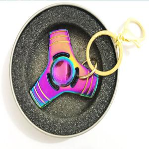 EDC Stress Reliever Fidget Spinner Cool Keyring - COLORMIX