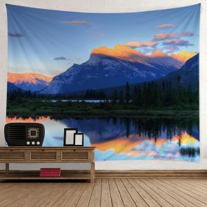 Mountain Scenery Print Tapestry Wall Hanging Art Décoration -