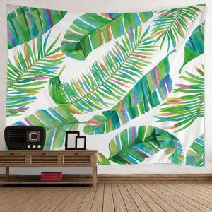 Wall Hanging Art Decoration Tropical Leaf Print Tapestry -