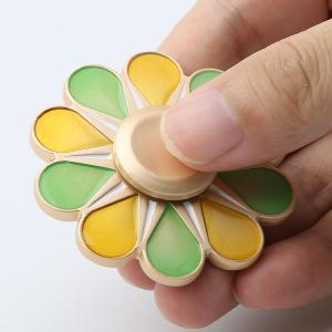 Floral Fidget Toy High Speed Hand Spinner -