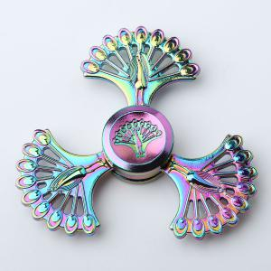 High Speed Peacock Blades Fidget Finger Spinner