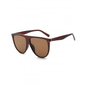 Wide Attached Frame Anti UV Sunglasses