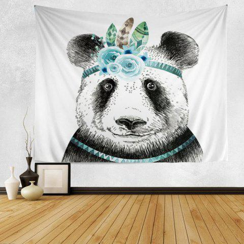 Panda Print Tapestry Wall Hanging Art Décoration