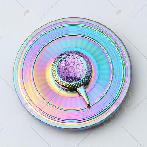 Outfits Stress Reducer Alloy Turntable Shape Hand Spinner - 6*6*1.3CM COLORFUL Mobile