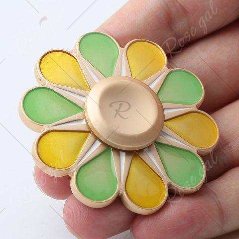 Fancy Floral Fidget Toy High Speed Hand Spinner - 5.5*5.5*1.3CM COLORMIX Mobile