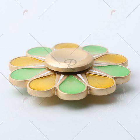 Outfits Floral Fidget Toy High Speed Hand Spinner - 5.5*5.5*1.3CM COLORMIX Mobile
