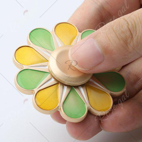 Store Floral Fidget Toy High Speed Hand Spinner - 5.5*5.5*1.3CM COLORMIX Mobile