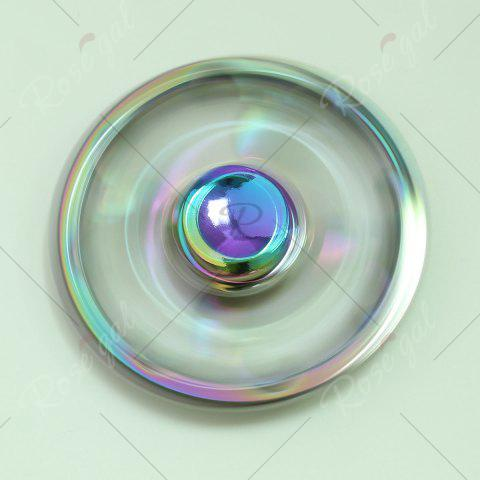 Cheap Round Colorful Sheepshead EDC Fidget Spinner - 6.5*6.5*1.3CM COLORFUL Mobile