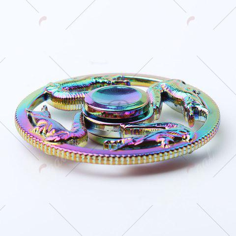 Outfit Anti Stress Dragon Metal Finger Toy Fidget Spinner - 6.5*6.5*1.3CM COLORFUL Mobile