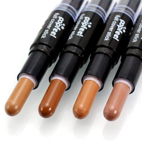 Unique Double-Headed Highlighting Concealer Stick - #04  Mobile