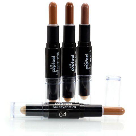 Outfit Double-Headed Highlighting Concealer Stick - #04  Mobile