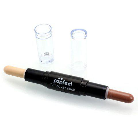 Outfit Double-Headed Highlighting Concealer Stick #01
