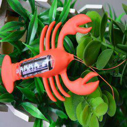 Creative Toy Solar Powered Lobster - RED