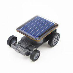 Creative Toy Mini Solar Energy Car - BLACK