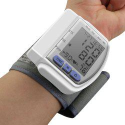 Health Care Digital Upper Automatic Wrist Blood Pressure Monitor -