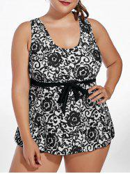 Ensemble Paisley Tankini Plus Size
