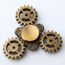 Anti Stress Triangle Gear EDC Fidget Spinner - BRONZE-COLORED