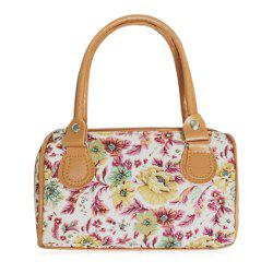 Flower Printed Mini Handbag