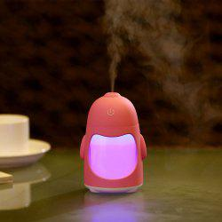Colorful Night Light USB Rechargeable Penguin Mini Humidifier