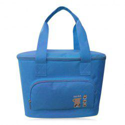 Zip Around Insulated Lunch Bag