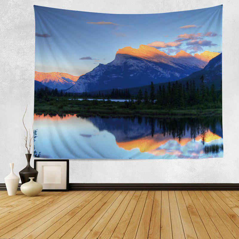 Mountain Scenery Print Tapestry Wall Hanging Art Décoration