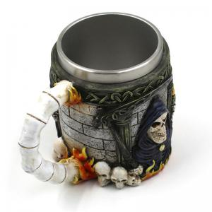 3D Skull Stainless Steel Mug for Bar Party Game -
