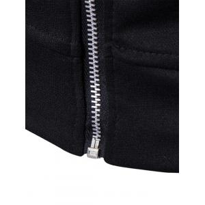Zip Pocket Jacket and Sweatpants Suit -