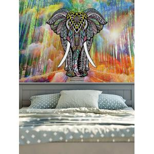 Wall Hanging Home Decor Elephant Pattern Tapestry