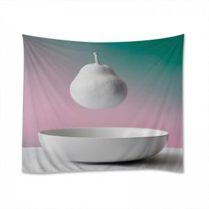 Hanging Pear Print Tapestry Wall Hanging Art Decoration -