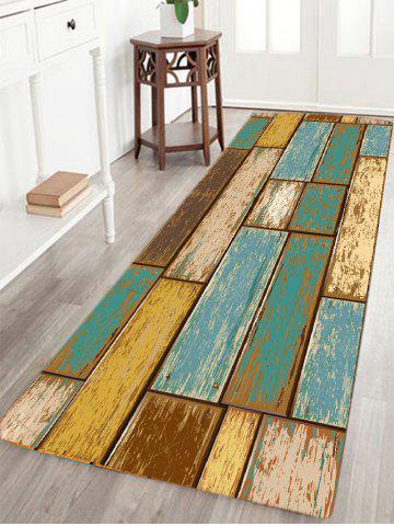 Online Vintage Wood Floor Pattern Indoor Outdoor Area Rug