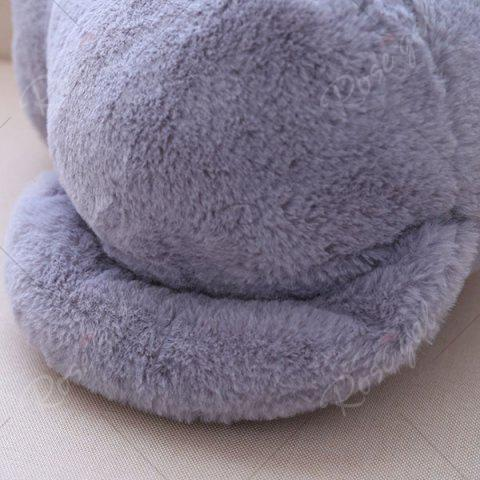 Outfit Stuffed Toys Cat Back Cushion Throw Pillow - GRAY  Mobile