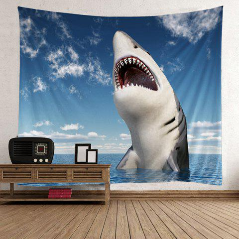Trendy Home Decor Shark Beach Wall Tapestry