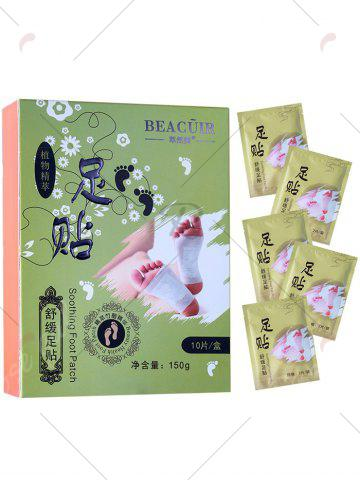 Shop Bamboo Vinegar Essence Detox Foot Patch - GREEN  Mobile