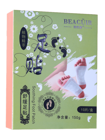 Affordable Bamboo Vinegar Essence Detox Foot Patch - GREEN  Mobile
