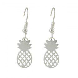 Pineapple Hook Drop Earrings