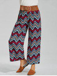 Printed High Waisted Palazzo Pants
