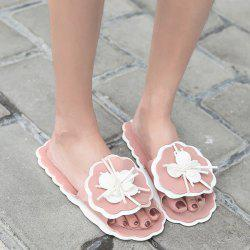 Scalloped Flower Slippers