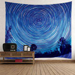 Wall Hanging Star Vortex Tree Tapestry -