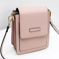 Flap Cross Body Mini Bag - PINK