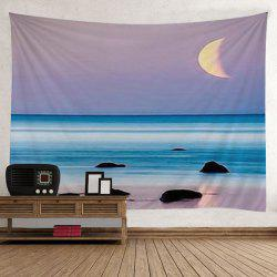 Beach Sea Sunset Print Tapestry Wall Hanging Art Decoration