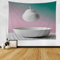 Hanging Pear Print Tapestry Wall Hanging Art Decoration
