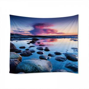 Stone Sunset Print Tapestry Wall Hanging Art Decoration -