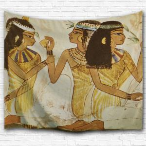 Wall Decor Egyptian Girls Hanging Tapestry