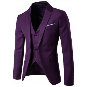 Blazer simple et pantalons Twinset d'affaires - Pourpre 5XL