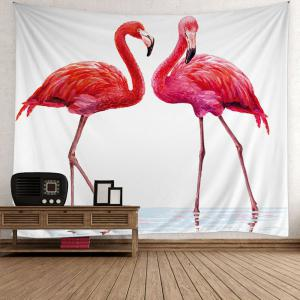 Home Decor Flamingo Wall Hanging Tapestry - Red - W59 Inch * L59 Inch